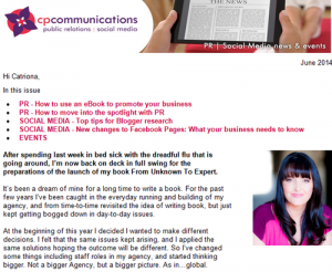 CP Communications Newsletter