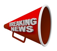 Breaking news loudspeaker small