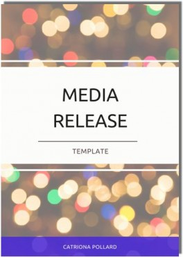 Four things to think about when writing a media release