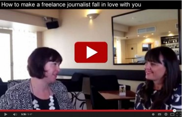 How to make a freelance journalist fall in love with you