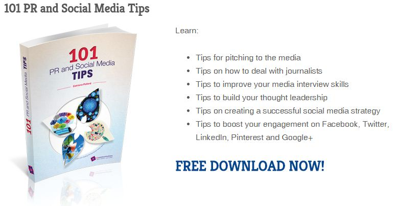 Pr and social media tips 101