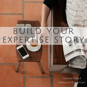 How your expertise story can build your profile