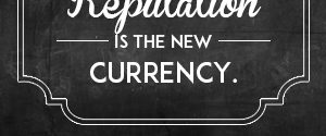 Reputation is the new currency